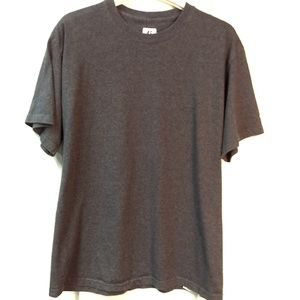 Russell Short Sleeve Tee Grey Gray Size M